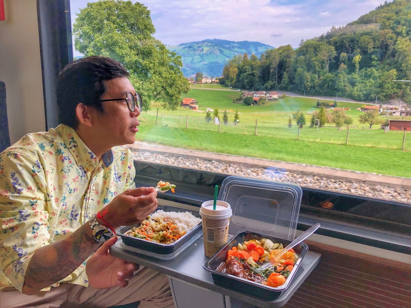 How to Tour Switzerland by Train
